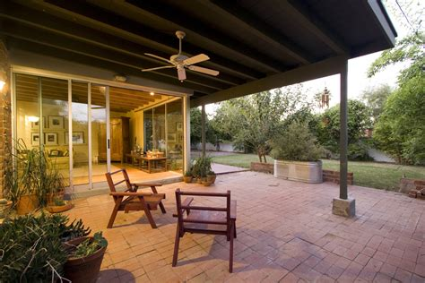 Patio Moderne by Coverings For Sliding Glass Doors Patio Modern With Brick