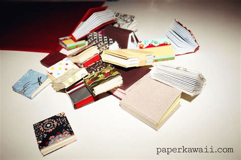 Origami Books With Paper - mini origami books paper kawaii