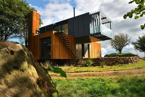 Welsh Architects Sing Praises Of Shipping Container Sea Container Home Designs