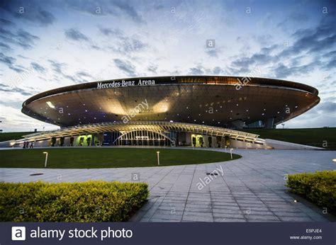mercedes arena shanghai mercedes arena in shanghai pudong shanghai china
