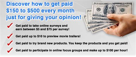 Make Money From Home Doing Surveys - get paid to take surveys under 18 do surveys for money really work