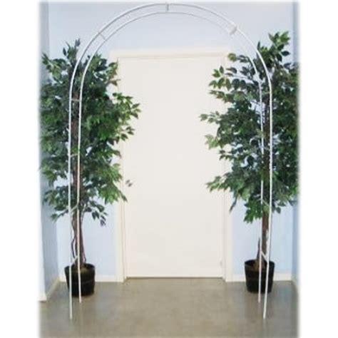 Metal Wedding Arch Uk by 7 5ft White Metal Arch Wedding Garden Bridal