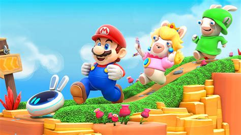 Sale Amiibo Rabbid Mario Lapin Mario mario rabbids kingdom battle announced for switch gematsu