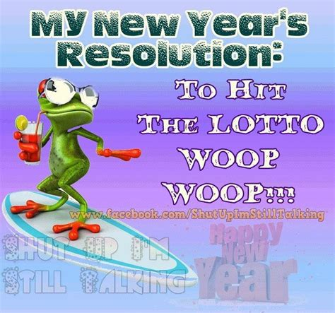 funny happy new year flirt new years resolution is to hit the lottery pictures photos and images for