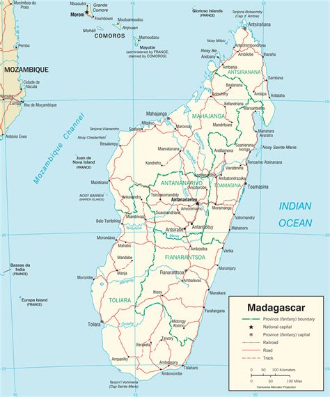 Carte De by Cartes De Madagascar Carte Monde Org