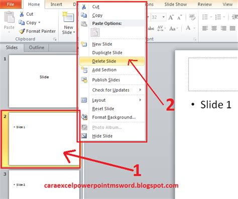 tahap membuat presentasi video tips mudah cara membuat presentasi powerpoint 2010 part 2