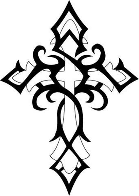 cross tattoo template 17 best ideas about tribal cross tattoos on