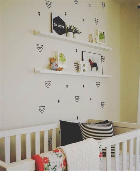 Buy Nursery Decor Nursery Room Ideas Wall Decals Buy Triangle Sticker Home Decor Baby Best Free Home Design