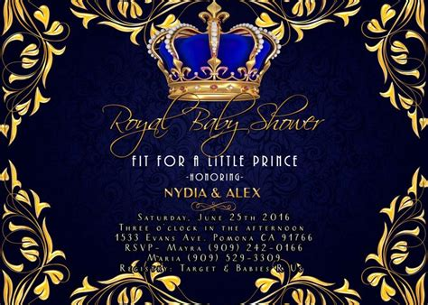 Sweet Prince Baby Shower Invitations by 21 Best Baby Shower Invitations Images On