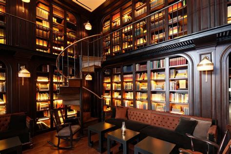Per Set Ace Lokal library home office and den the library bar new york