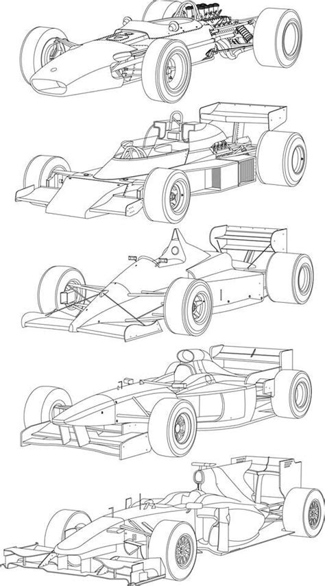 Formula 1 Sketches by 434 Best Images About Racing Car Line Drawings On