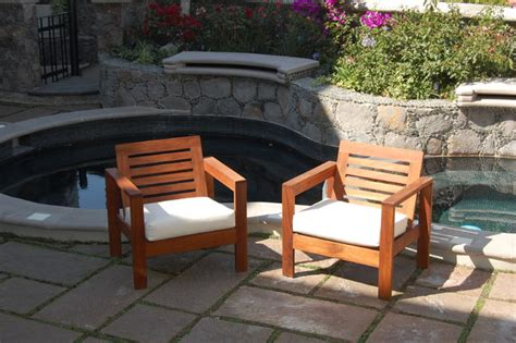 ex design tzalam wood outdoor furniture single playa