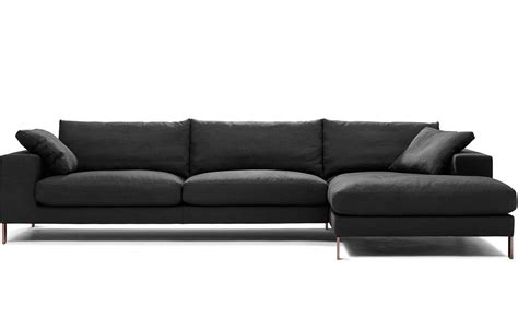 3 sectional sofa plaza 3 seat sectional sofa hivemodern com