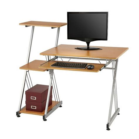 Computer Desks At Office Depot Limble Ii Computer Desk 39 38 H X 46 W X 21 12 D Birch By Office Depot Office Away From Office