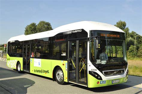 volvo  hybrid hamburg volvo buses