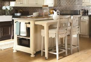 Island Table For Kitchen Space Saving Kitchen Island With Pull Out Table Homesfeed