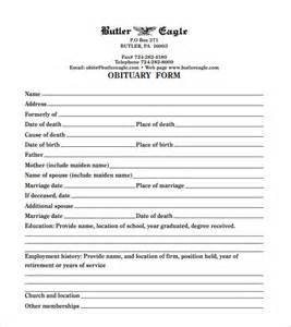 free printable obituary templates funeral obituary template 22 free word excel pdf psd
