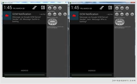 android gcm android device to device messaging using cloud messaging gcm via http java tutorial