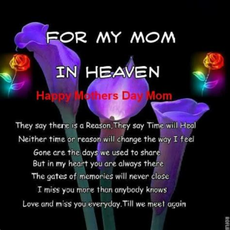 Quotes For S Day In Heaven Happy Mothers Day In Heaven Images Quotes Poems Hd