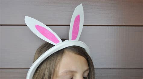 How To Make A Rabbit Out Of Paper - easter craft be a