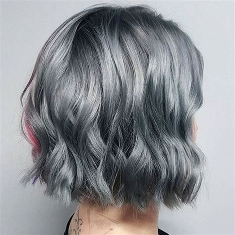 Grey Bob Hairstyles by Grey Hair Trend 20 Glamorous Hairstyles For 2018