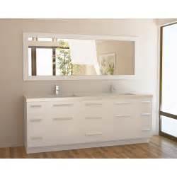 Bathroom Vanities In White 84 Inch Bathroom Vanity The Variants Homesfeed