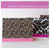 Simple Handmade Card Tutorial  Anyone Can Make These