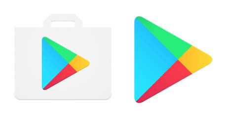 android play store play store refreshes app and notification icons android community