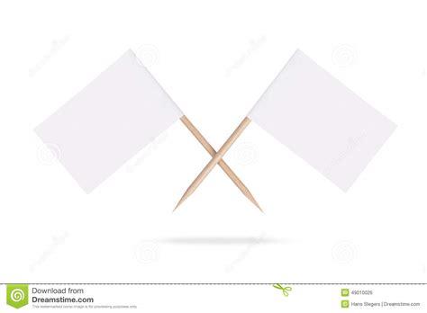imagenes de banderas blancas banderas blancas en blanco cruzadas aislado foto de
