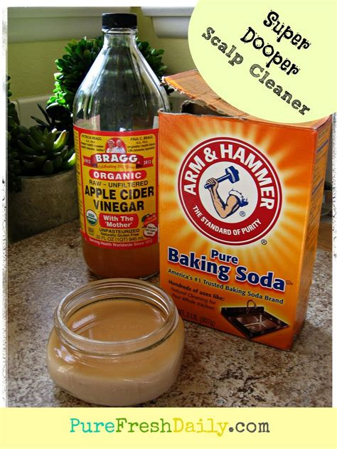 Scalp Detox With Baking Soda by Dooper Scalp Cleaner Fresh Daily This Really