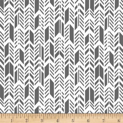 Designer Home Decor Fabric Sunprint Feathers Grey Discount Designer Fabric Fabric
