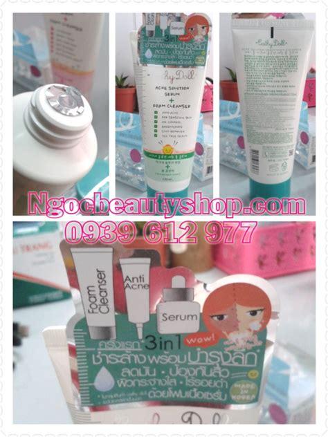 Cathy Doll Acne Solution Serum Foam Cleanser Diskon 1 sữa rửa mặt trị mụn cathy doll acne solution serum foam