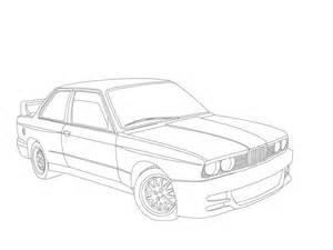 modda bilen min(bmw e30) [WIP] >tegning