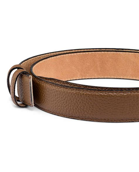 buy brown cow leather belt leatherbeltsonline