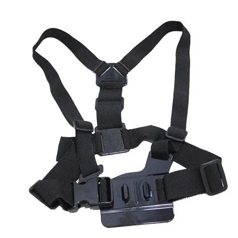 Shoulder Harness For Gopro Sjcam Sj4000 Sj5000 Xiaomi Yi gopro accessories harness adjustable elastic shoulder chest for gopro 4 3 3 2 sj4000