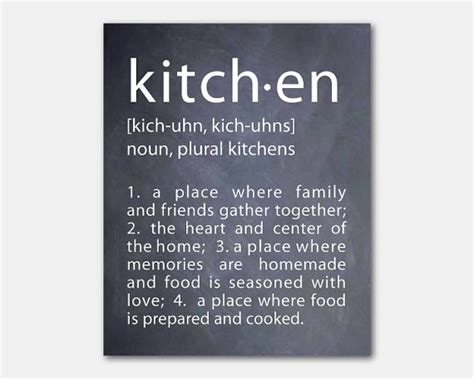 decor meaning typography kitchen definition word by susannewberrydesigns