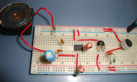 easy integrated circuit projects lm386 audio lifier circuit diagram