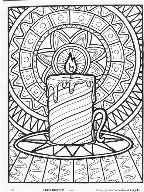 doodle art coloring pages coloring home