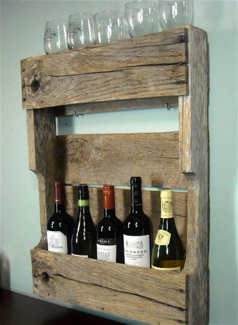 Wood Pallet Wine Rack by Wooden Wine Rack From Pallets Dump A Day