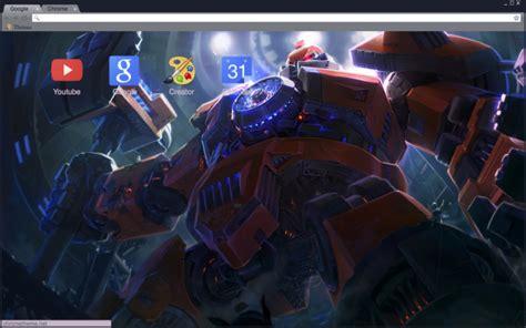 Themes Chrome League Of Legends | mecha zero sion theme league of legends chrome theme