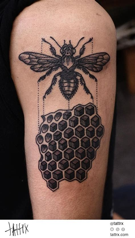 honeycomb tattoo honeycomb search ink
