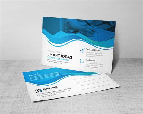 Ocean Professional Postcard Design Template 002200 Template Catalog Professional Postcard Templates