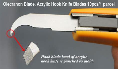 Pisau Cutter Acrylic Isi 10 Pcs 10pcs parcel olecranon blade acrylic hook knife blades ebay