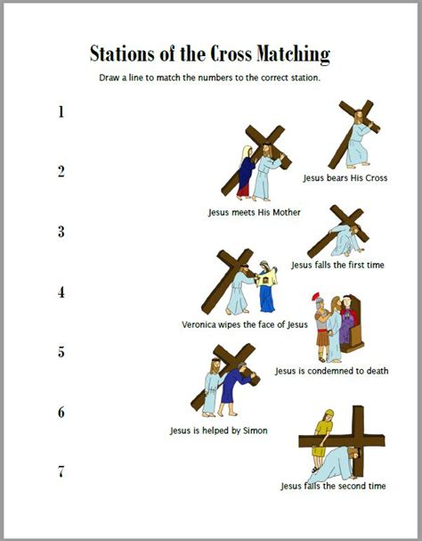 printable images stations of the cross stations of the cross worksheets drawn2bcreative