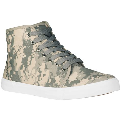 mens camo sneakers mil tec army sneakers trainers mens tactical