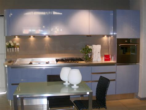 cucina azzurra offerta scavolini tess azzurra 3916 cucine a prezzi scontati