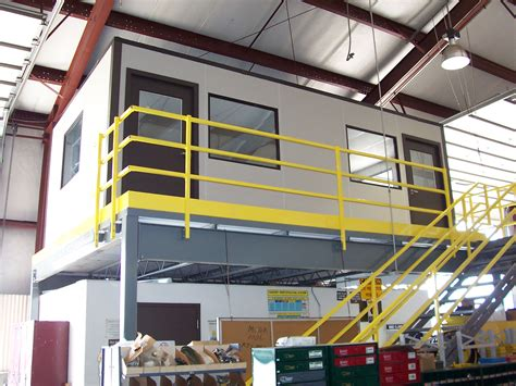 how building a mezzanine can increase storage and office space how a mezzanine can increase profits in a metal building