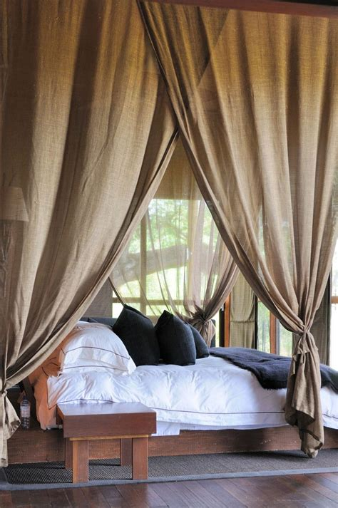 how to hang curtains on a canopy bed how to create dreamy bedrooms using bed curtains