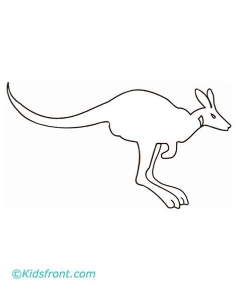 wallaby coloring page printable print wallaby coloring pages small color page large color