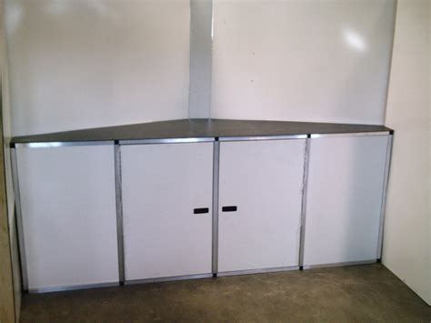 aluminum cabinets enclosed trailer v nose trailer cabinets fanti blog